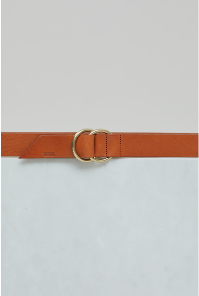 Leather Belt - Cinnamon