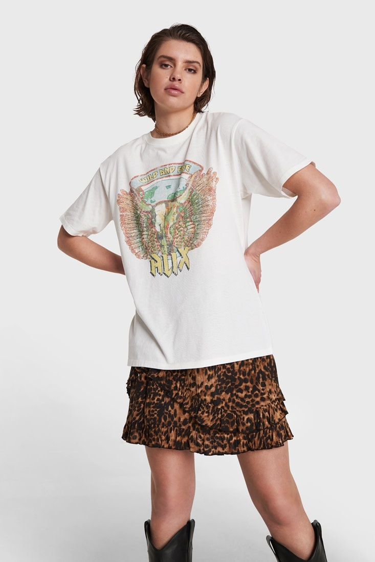 Bull T-shirt - White-1