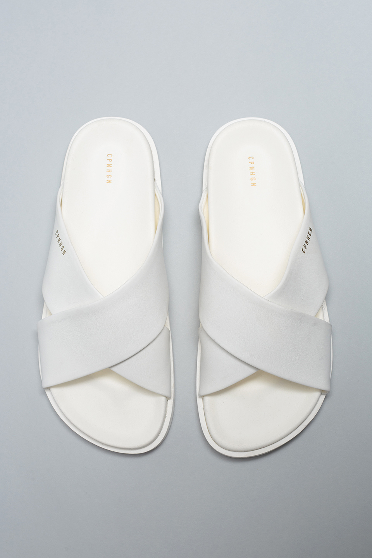 CPH712 - Slippers - White-2