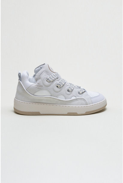 CPH201 - Leather Mix - White