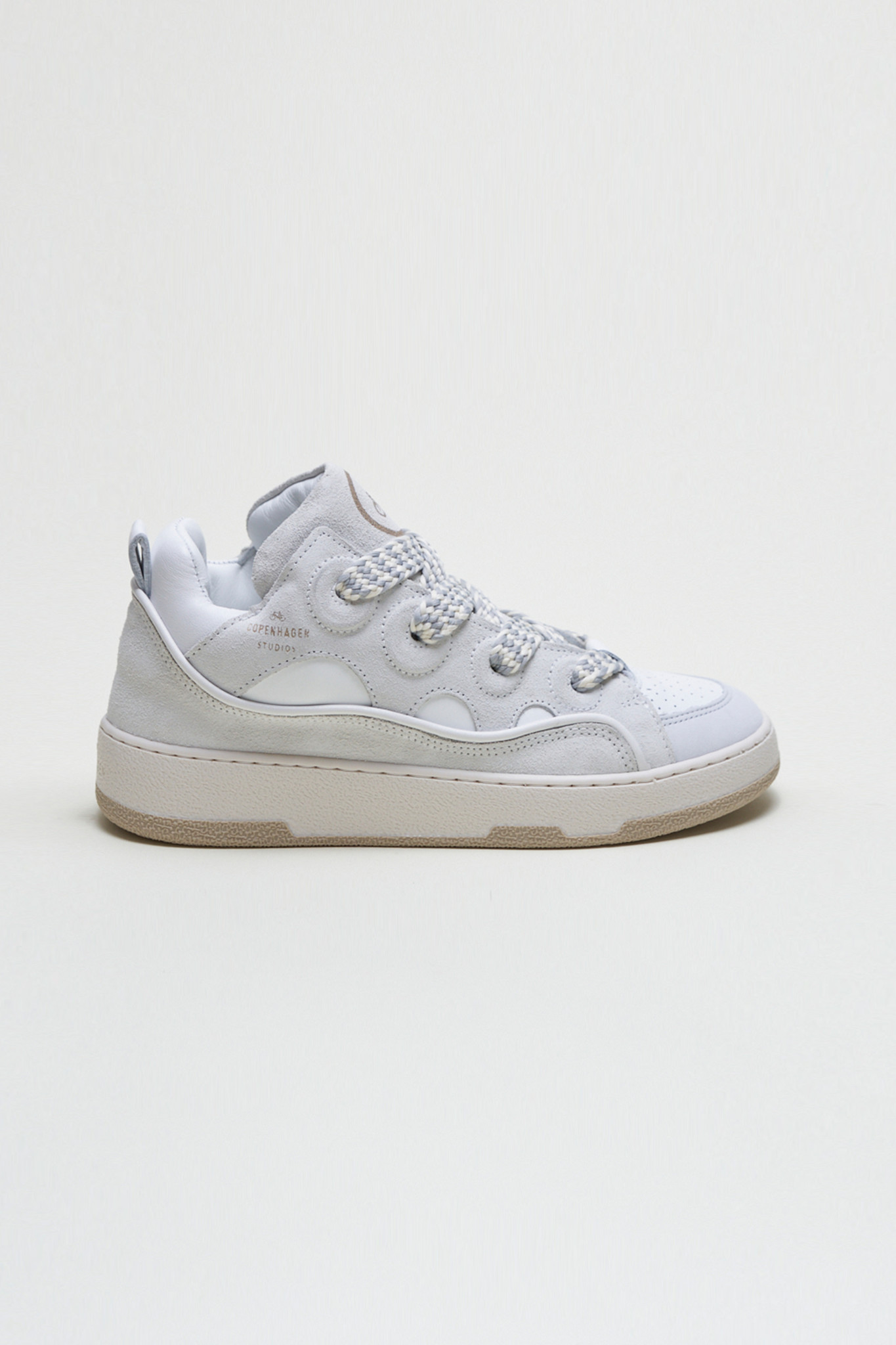 CPH201 - Leather Mix - White-1