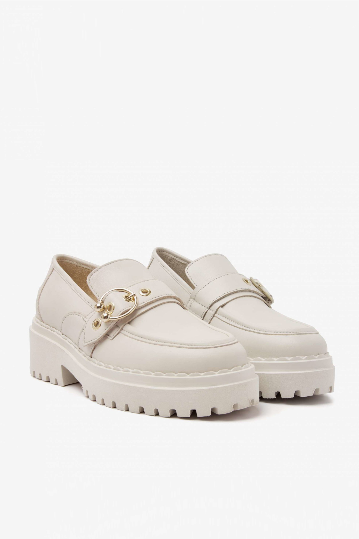 Fae Gatsby Sandals - Beige-1