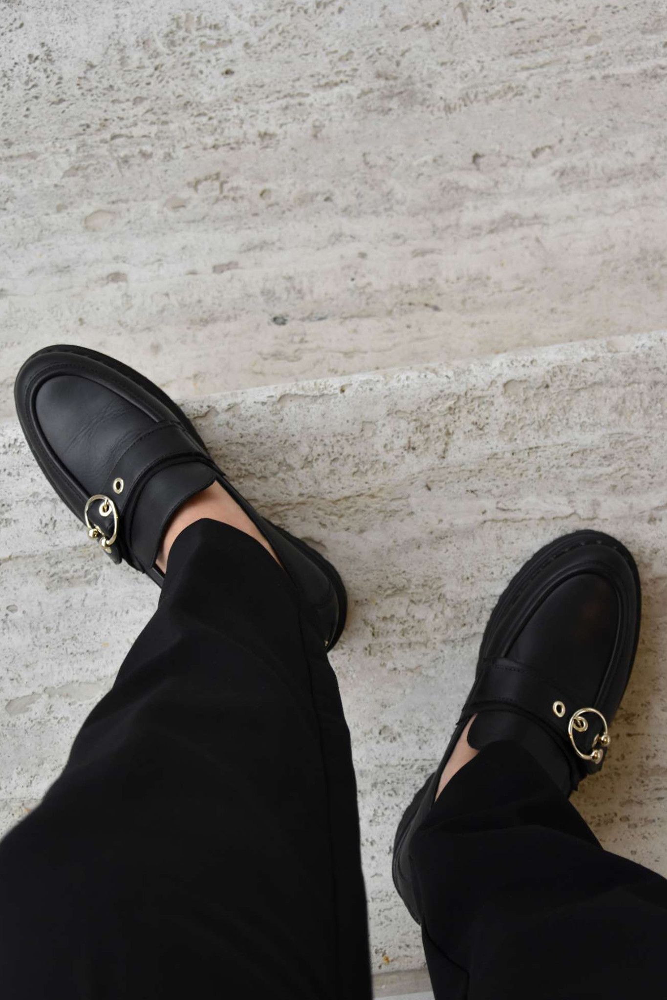 Fae Gatsby Sandals - Black-2