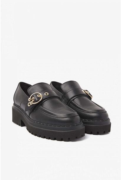 Fae Gatsby Sandals - Black