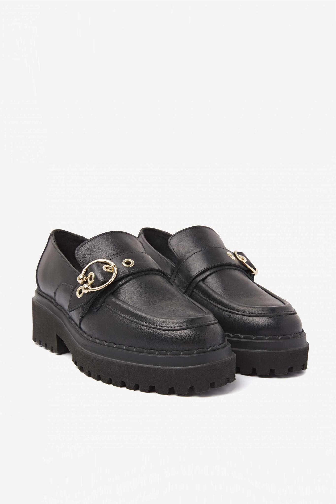 Fae Gatsby Sandals - Black-1
