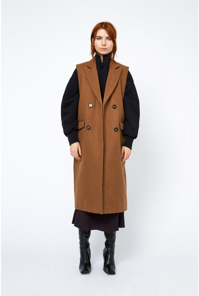 Aggie Coat - Toffee