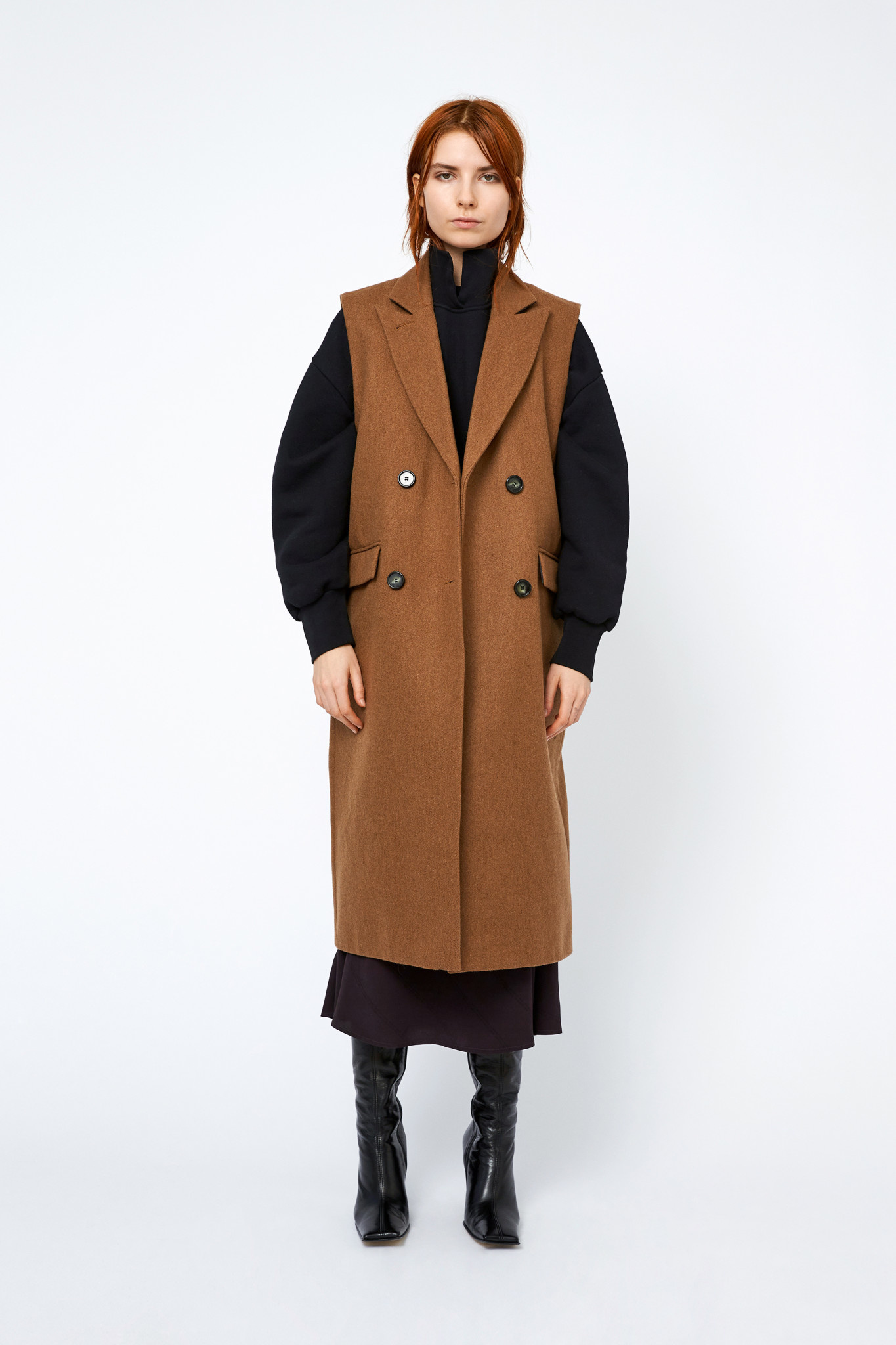 Aggie Coat - Toffee-1
