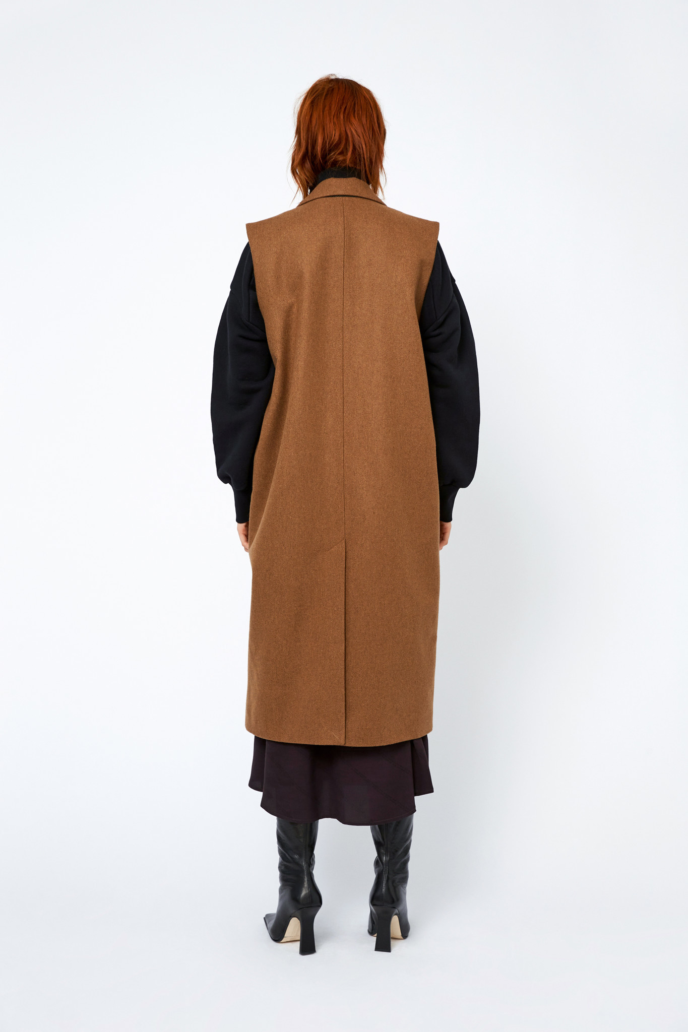 Aggie Coat - Toffee-3