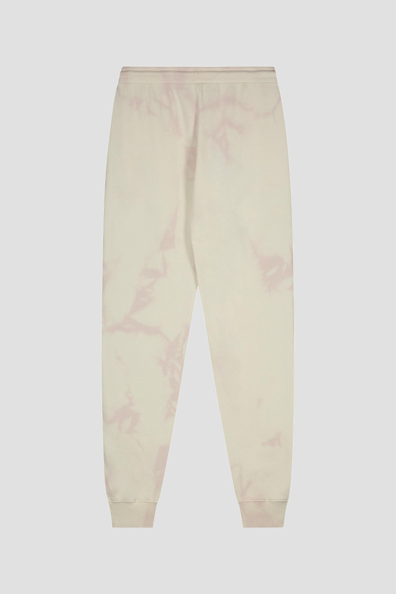 Tie Dye Sweatpants - Cream/Pink-2