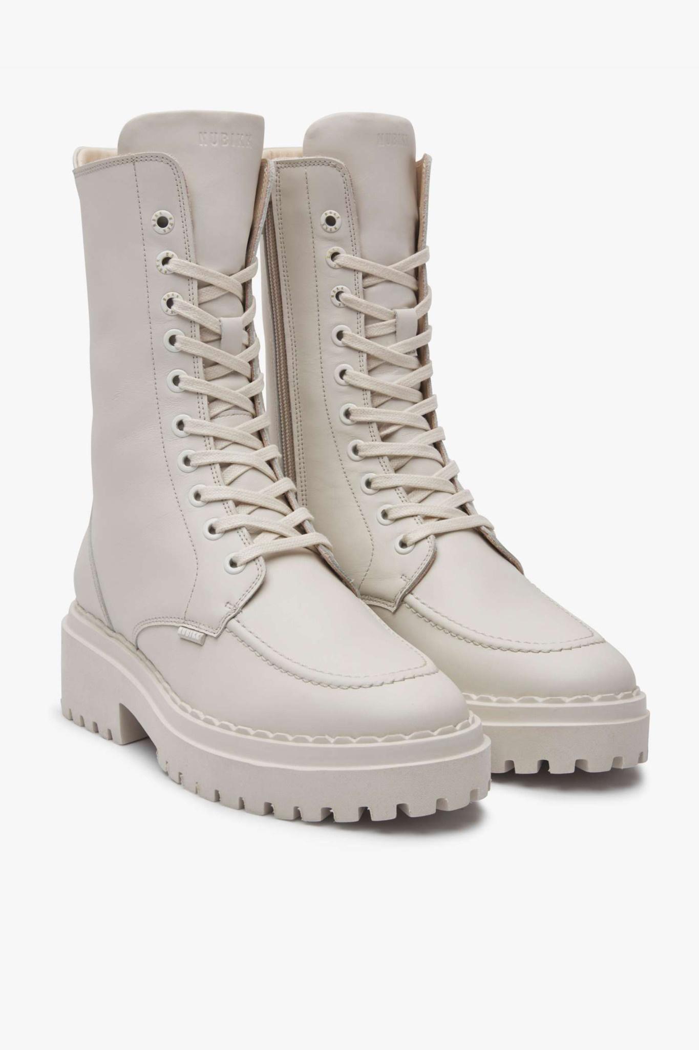 Fae Aubine Biker Boots - Desert-1