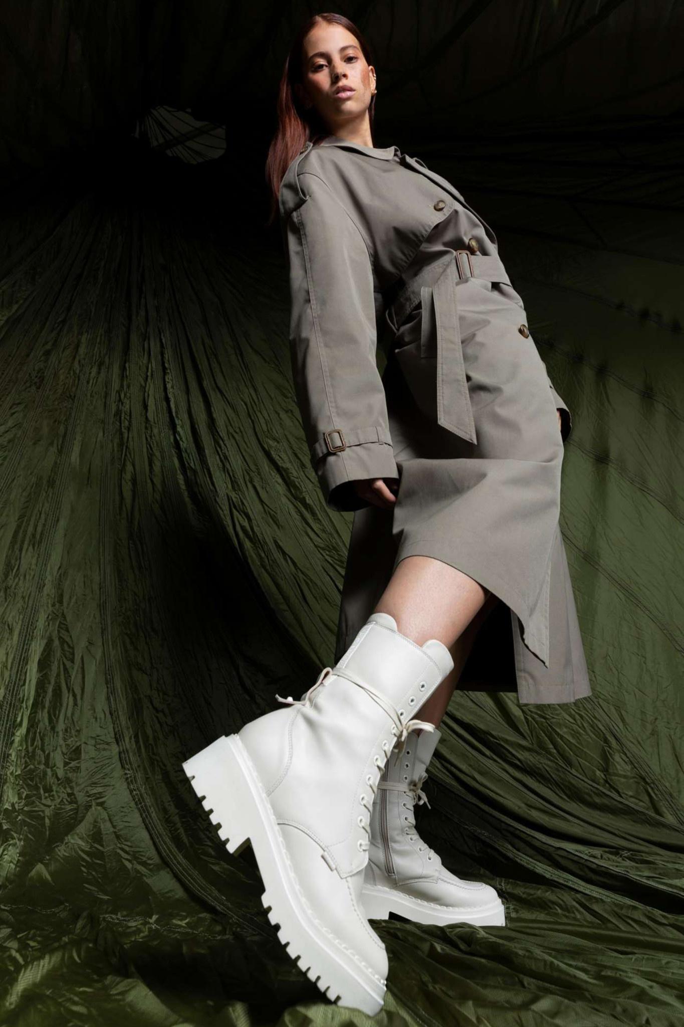 Fae Aubine Biker Boots - Desert-2
