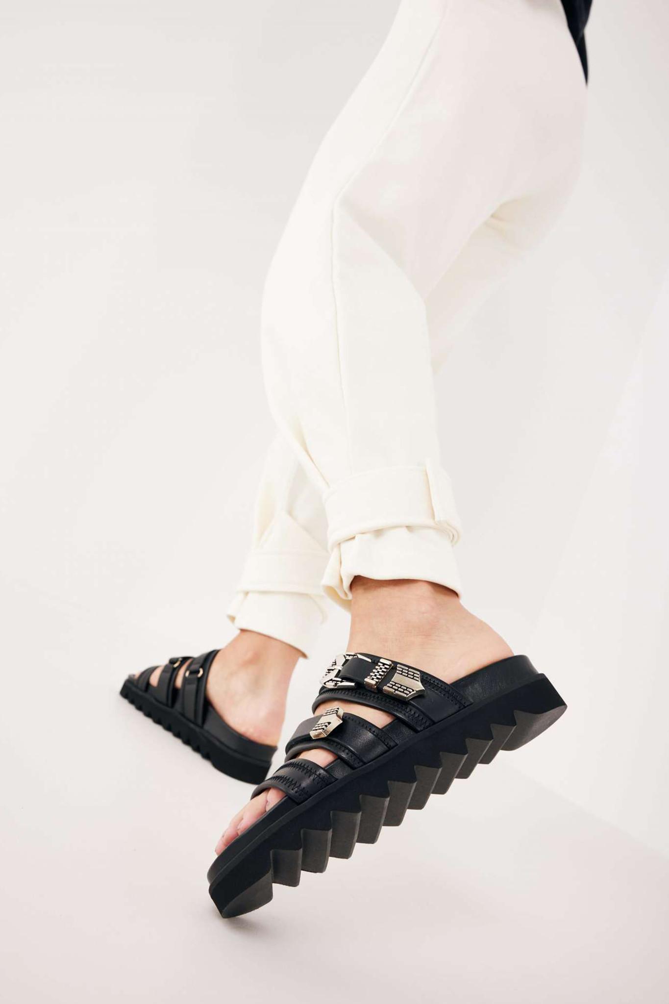 Lauren Taro II Sandals - Black-2