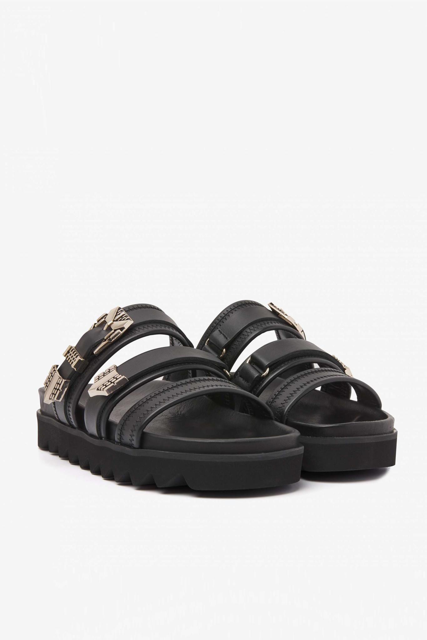 Lauren Taro II Sandals - Black-1