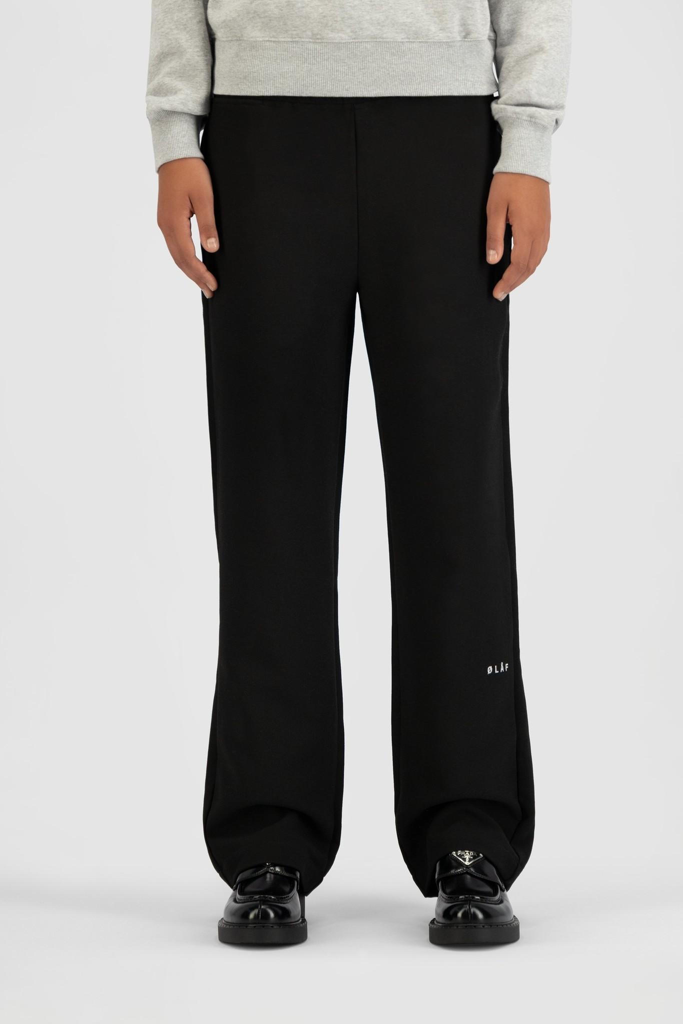 Elasticated Trouser - Black-1