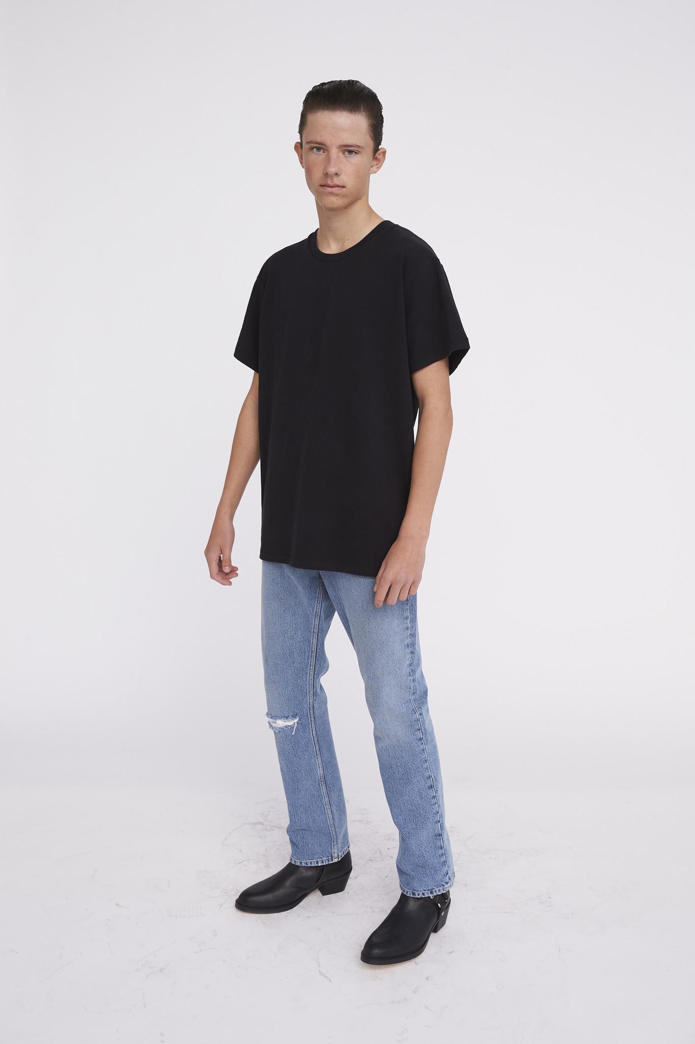 T-shirt Kim - Black-1