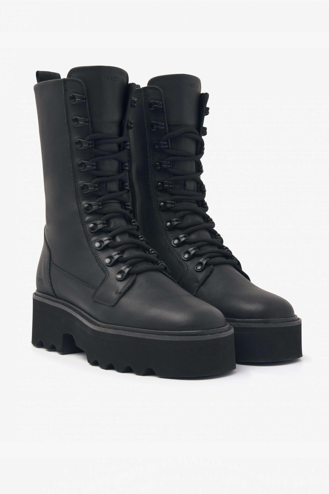 Fara Noir Boots - Black-1
