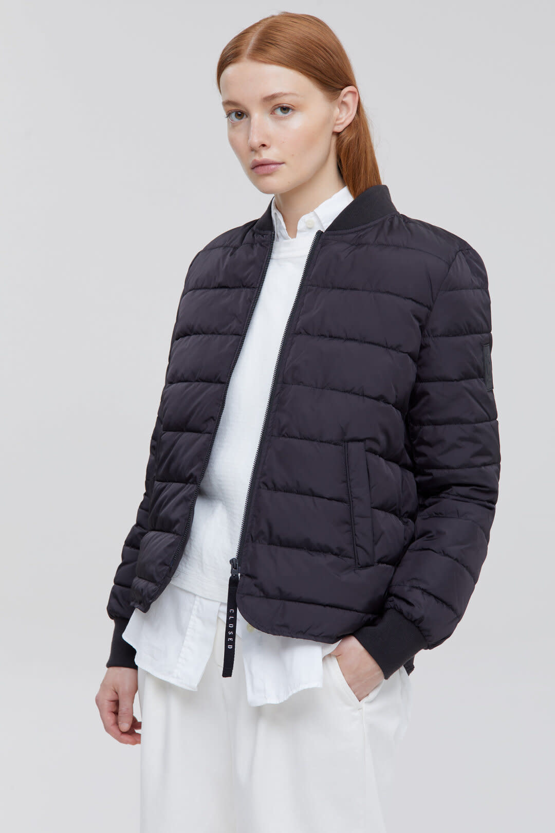 Ultralight Quilted Jacket - Black-1