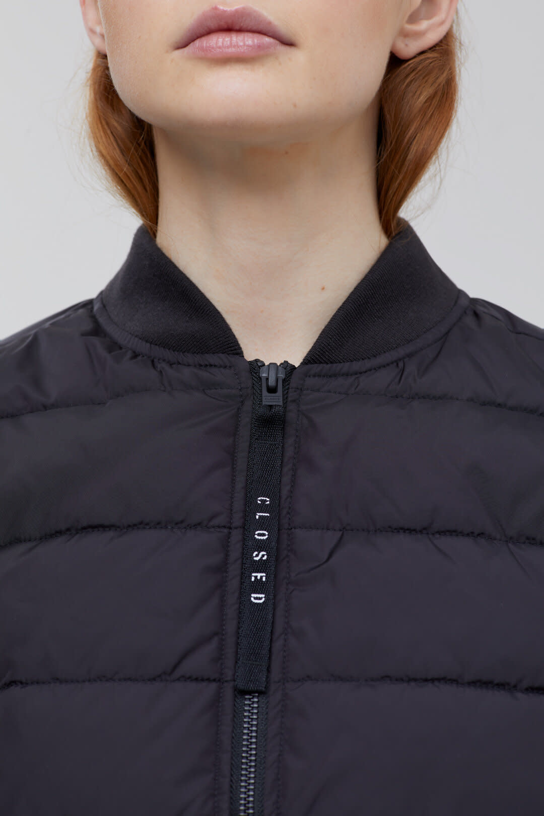 Ultralight Quilted Jacket - Black-2