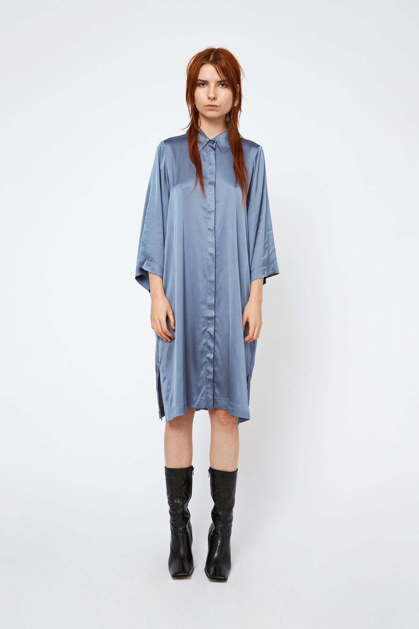 Daphne Dress - Blue-1