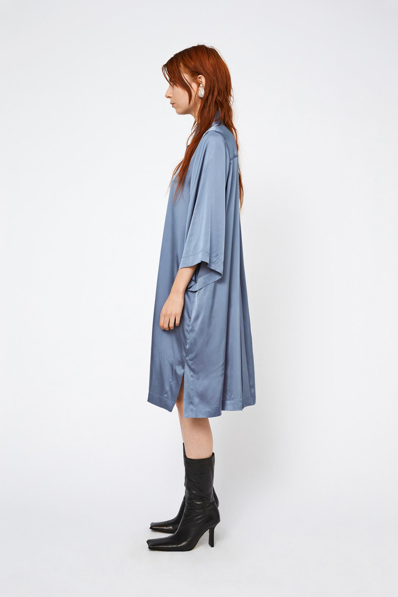 Daphne Dress - Blue-2