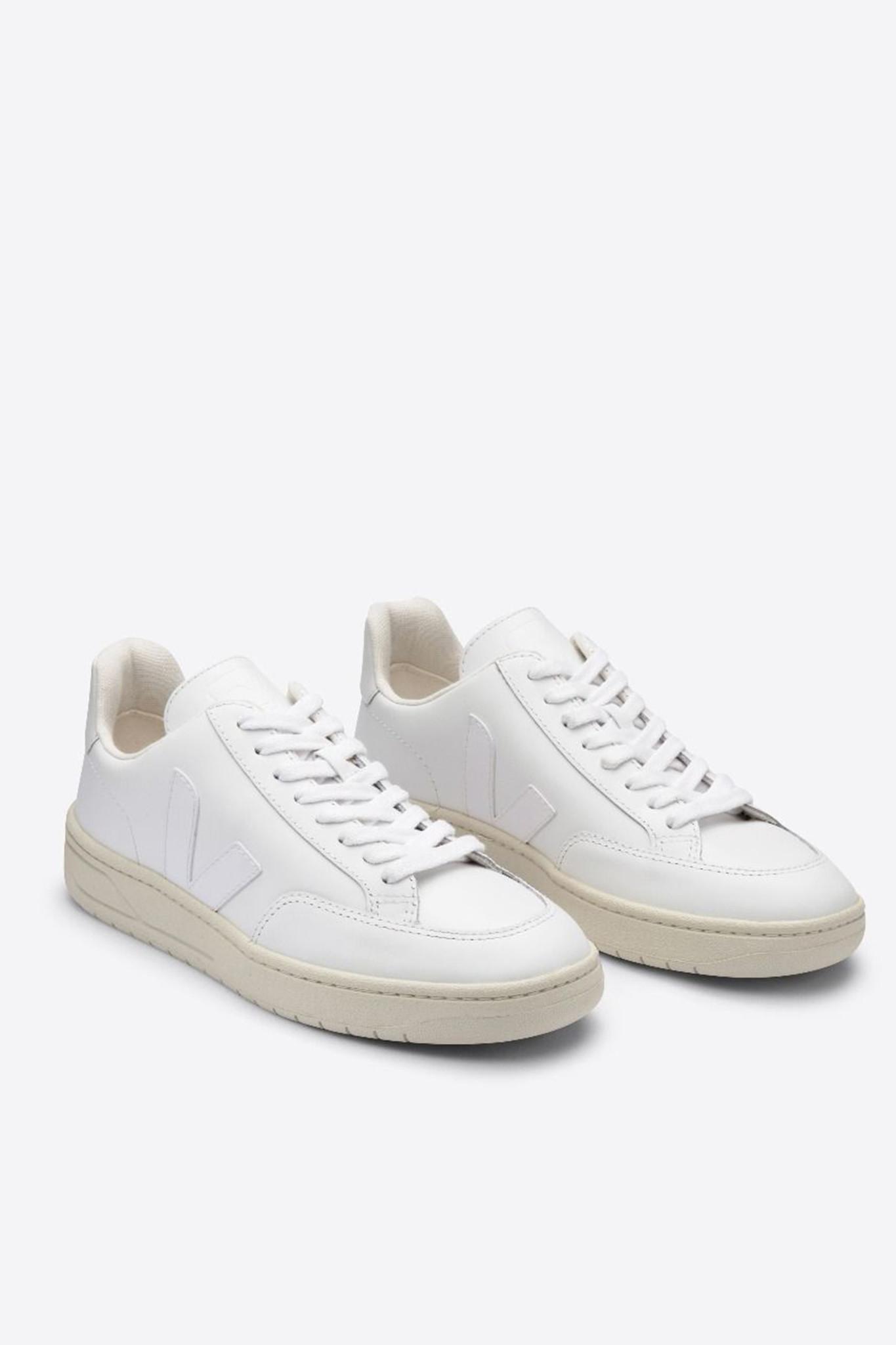 V-12 Leather - Extra White-1