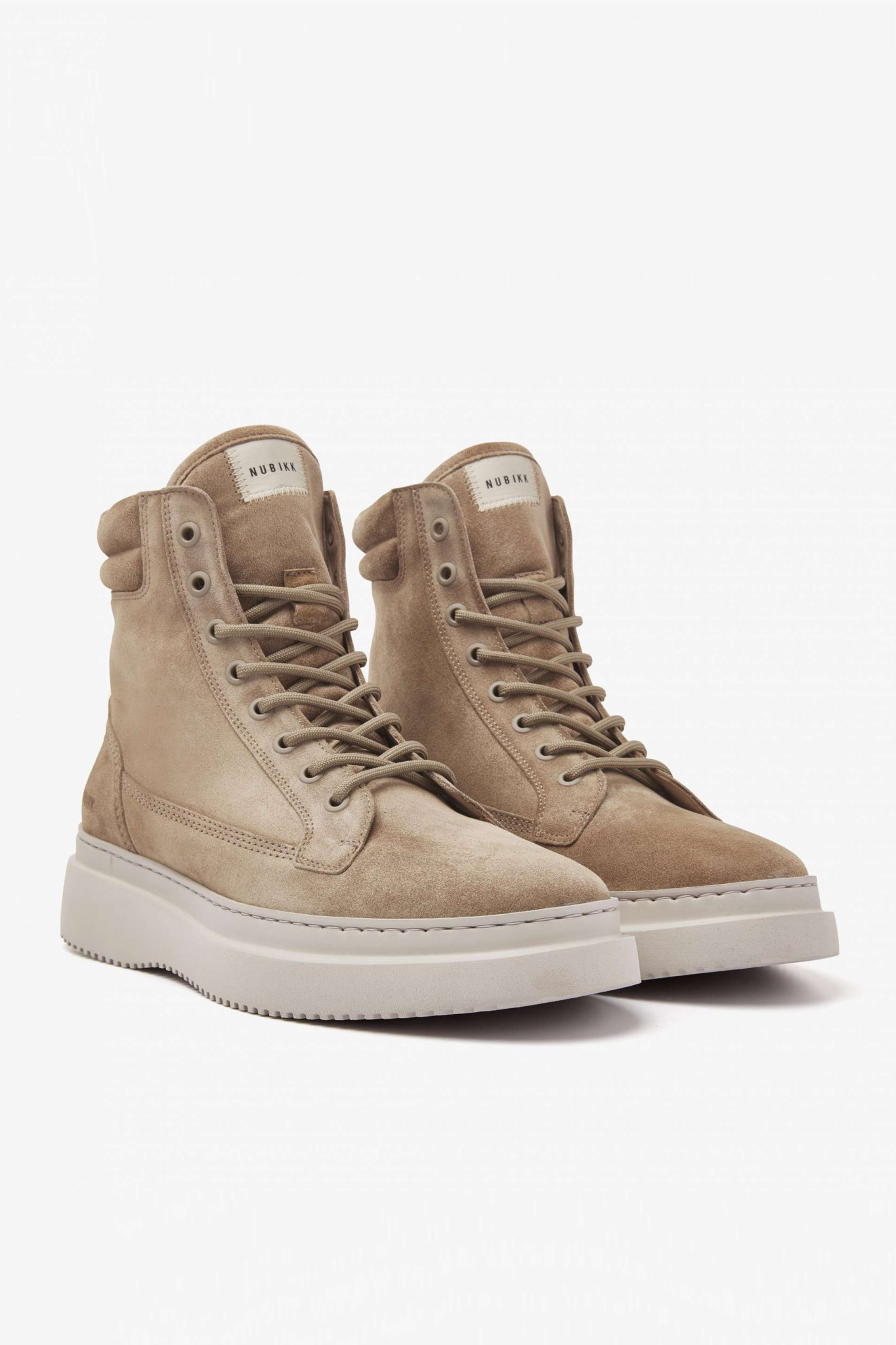 Jonah Dune Boots - Taupe Suede-1