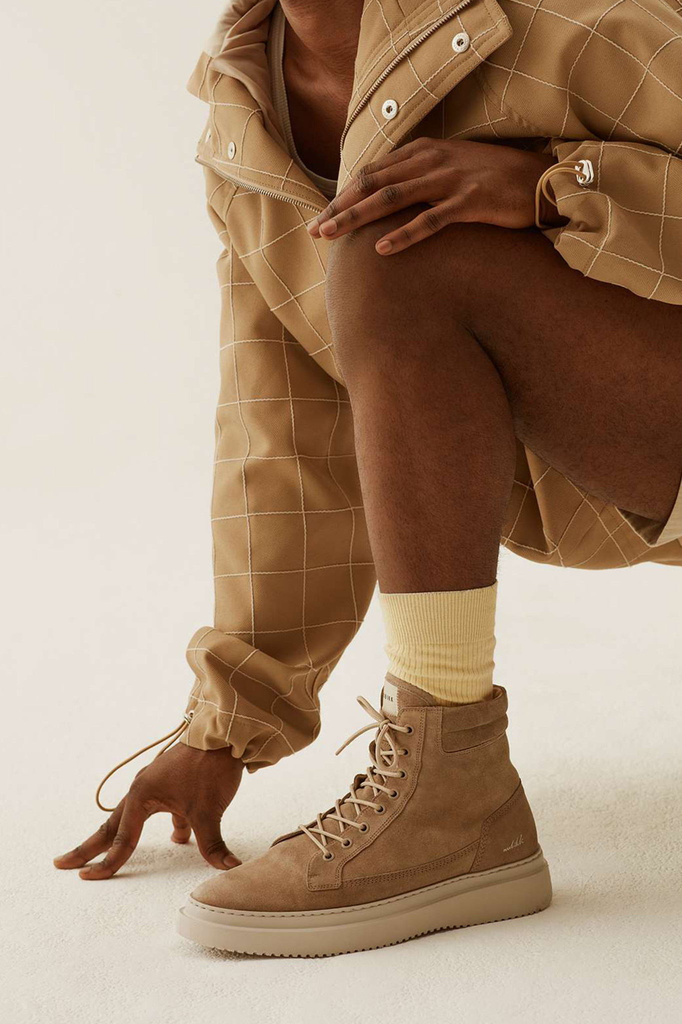 Jonah Dune Boots - Taupe Suede-2