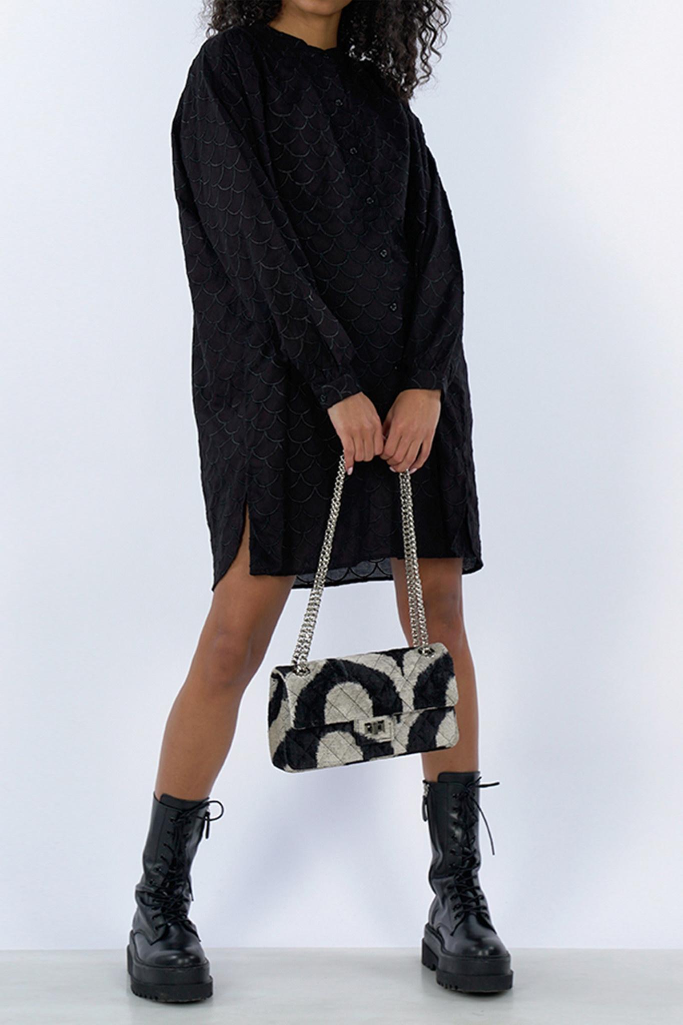 Bluebell Dress - Black-1