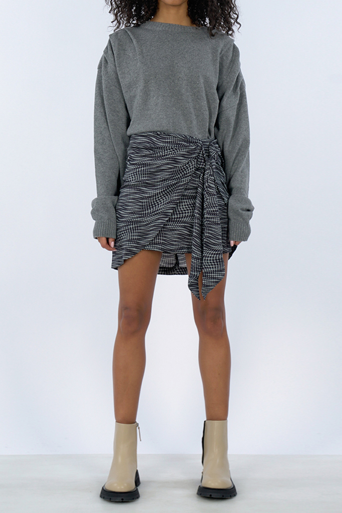 Cilla Sweater - Grey-1