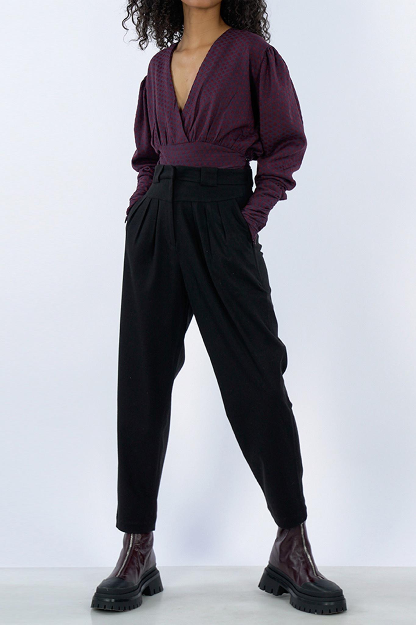Persia Pants - Black-1