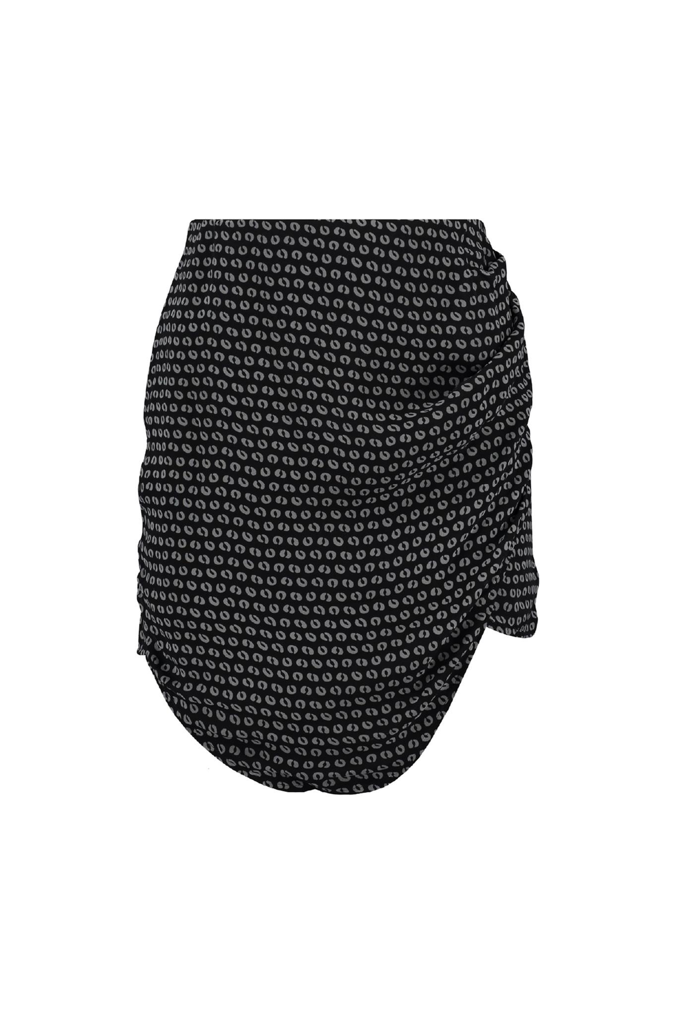 Seven Skirt - Black/Grey-2