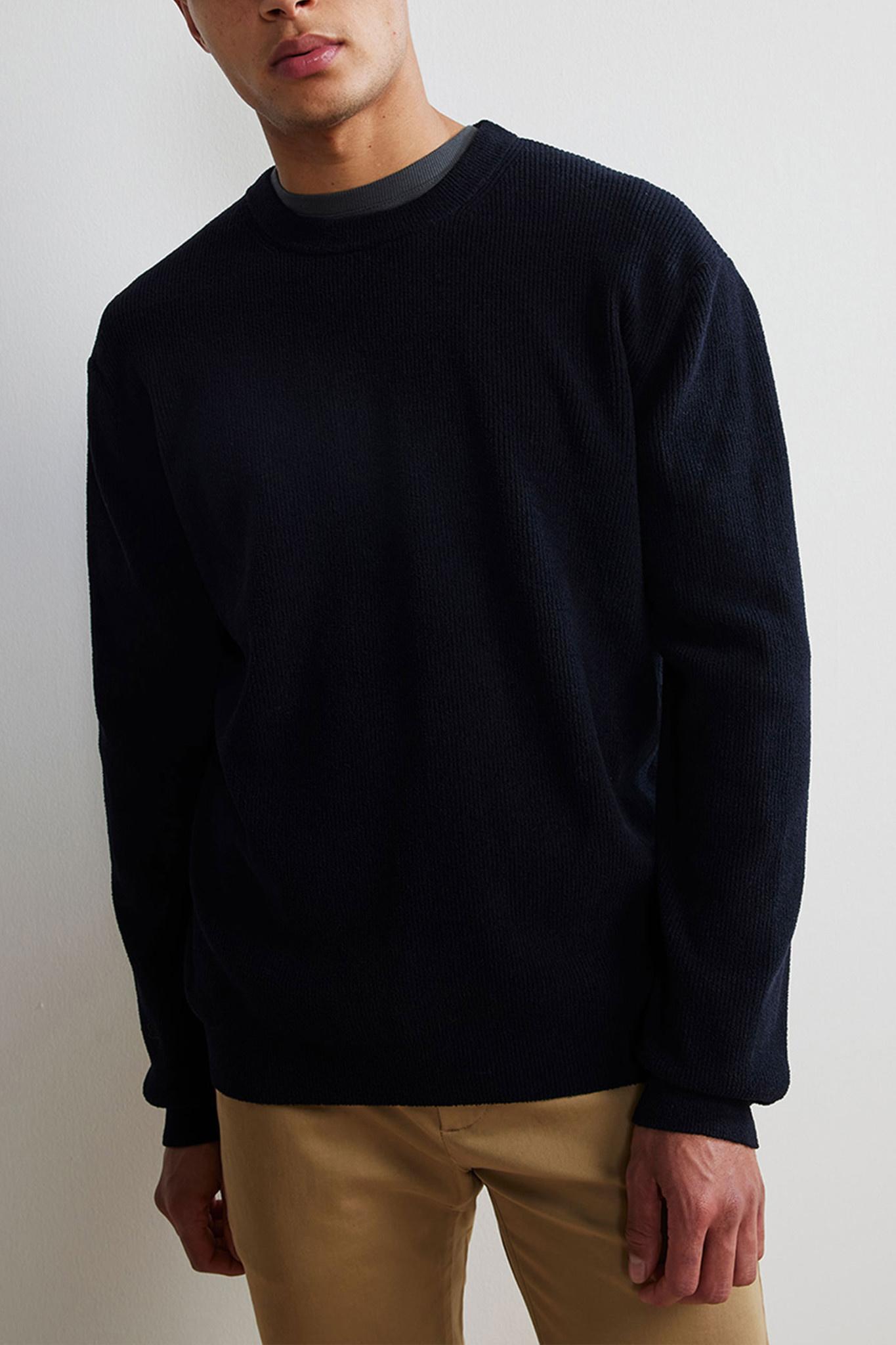 Danny Sweater - Dark Blue-1