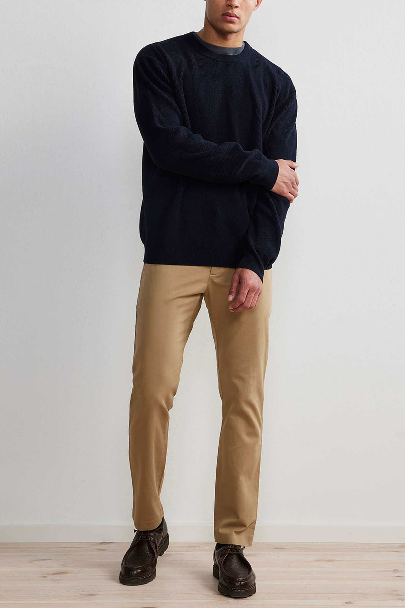 Danny Sweater - Dark Blue-2