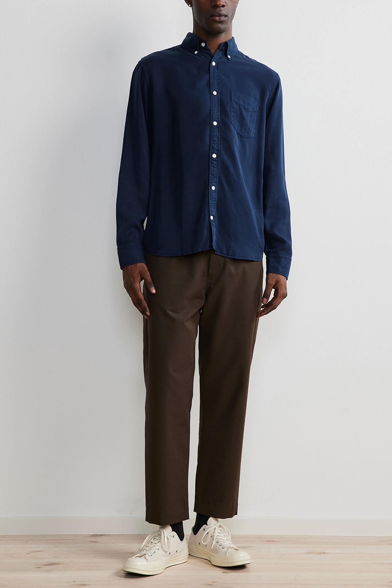 Levon Shirt - Blue-2