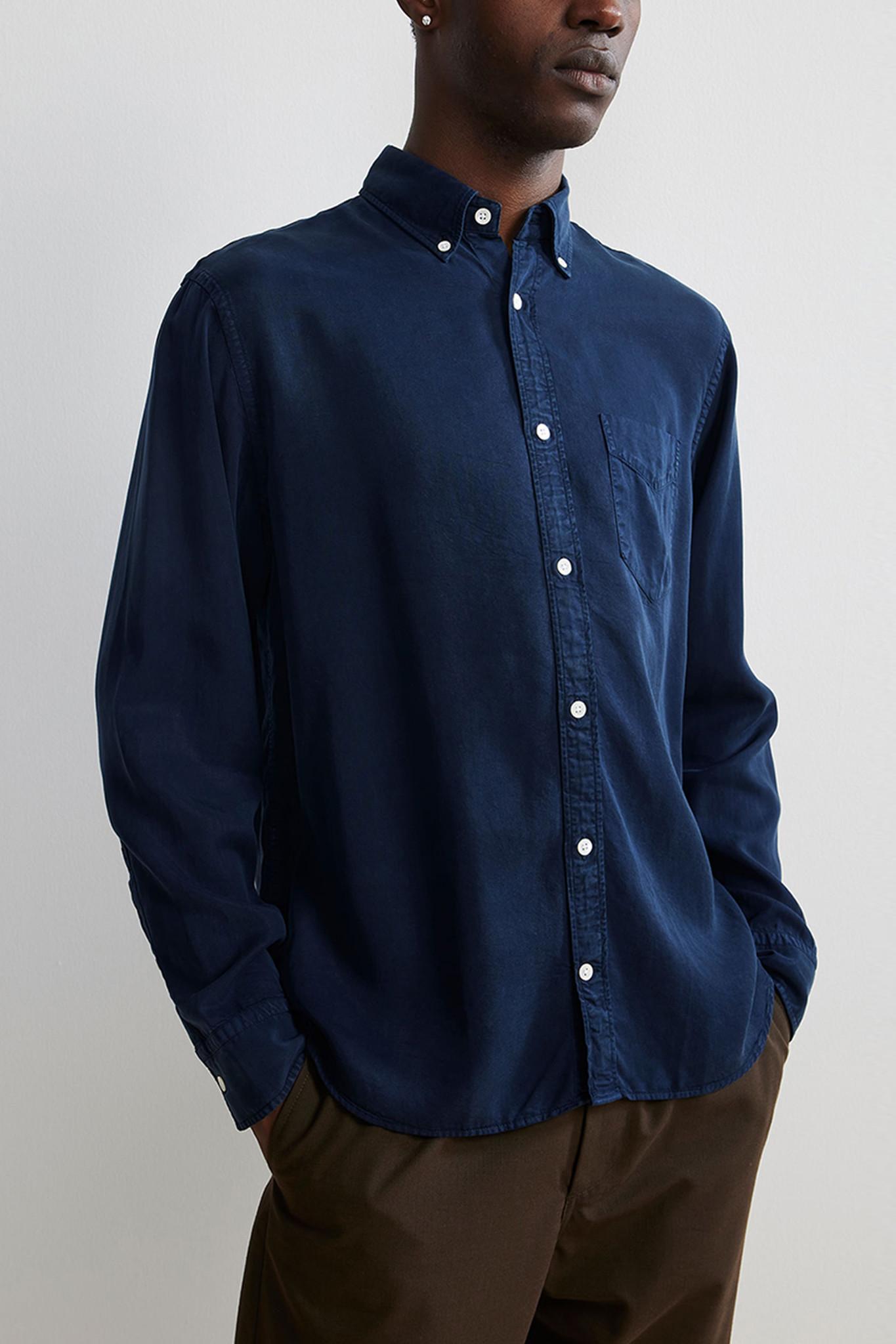 Levon Shirt - Blue-1
