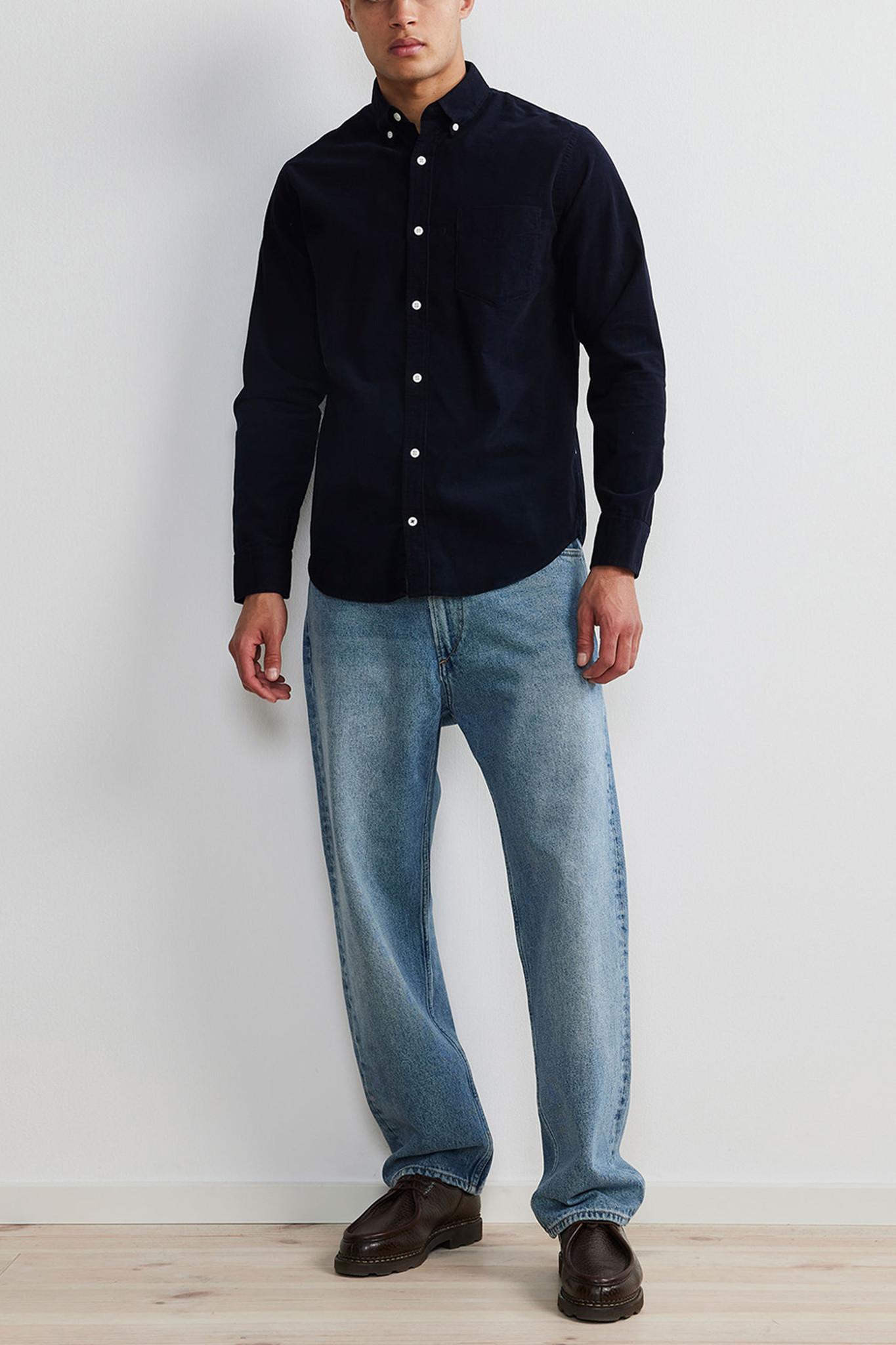 Levon Shirt - Dark Blue-2