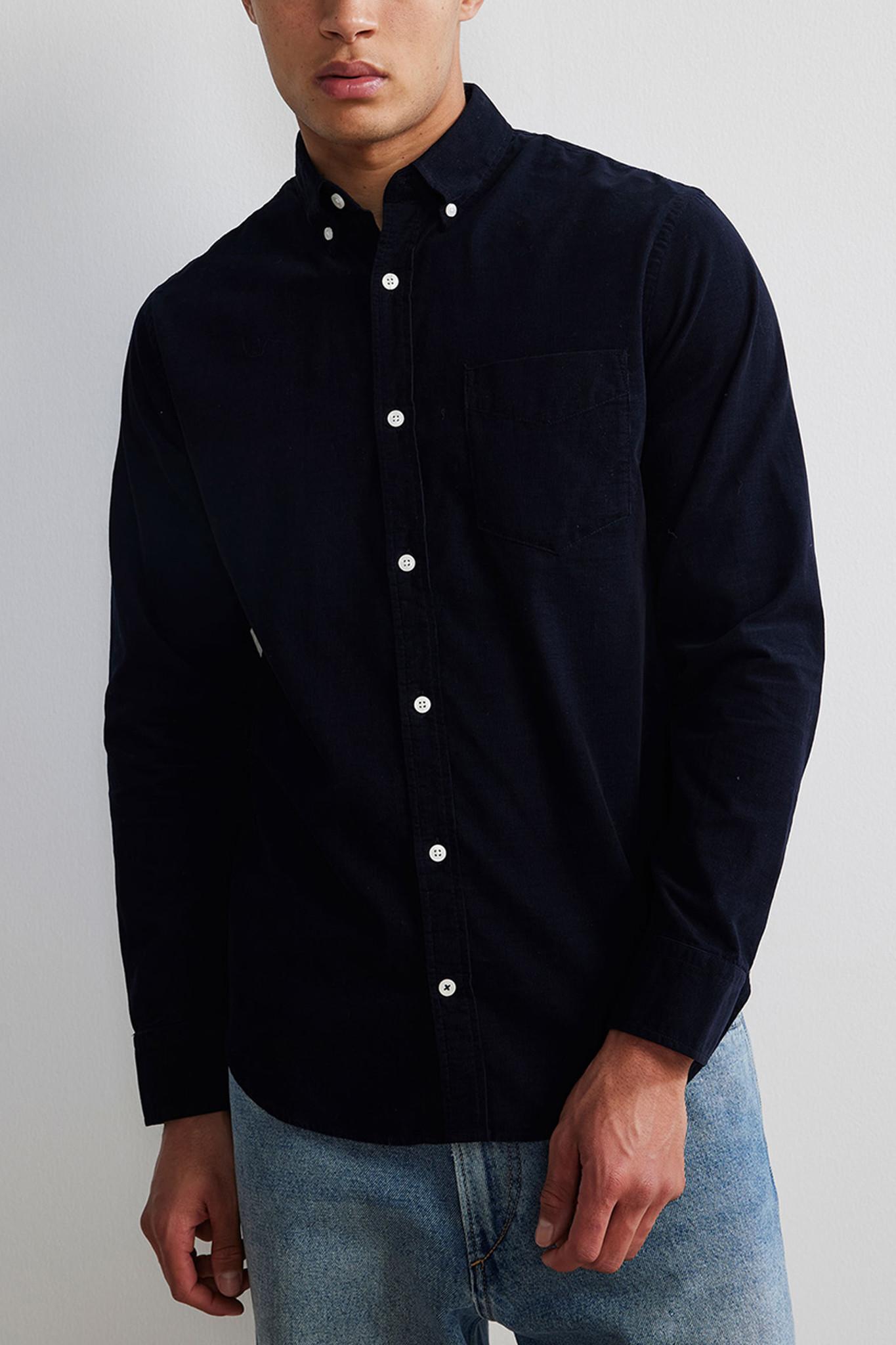 Levon Shirt - Dark Blue-1