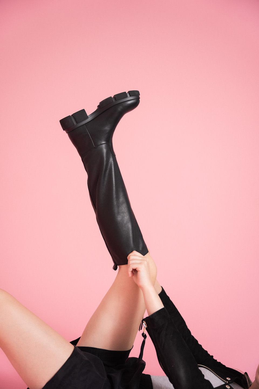 CPH551 High Boots - Black-2
