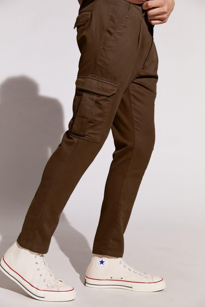 Lago Trousers - Dark Brown-1