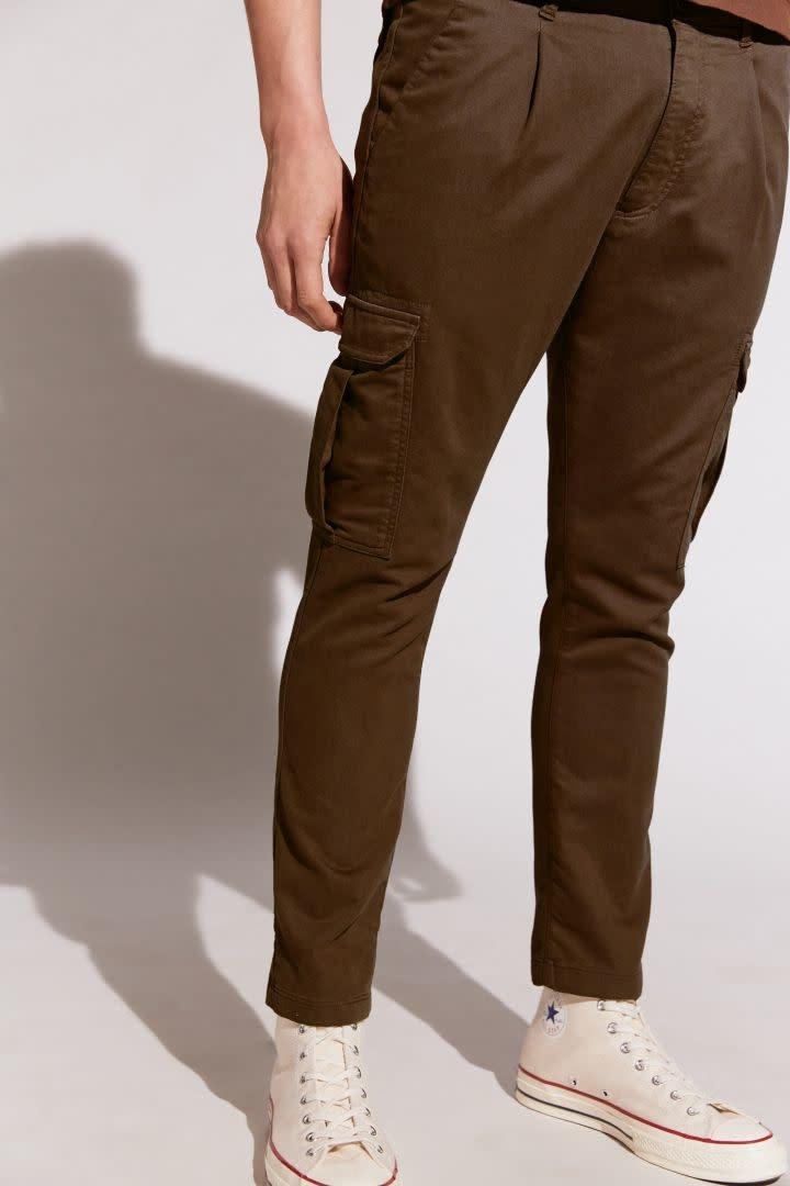 Lago Trousers - Dark Brown-2