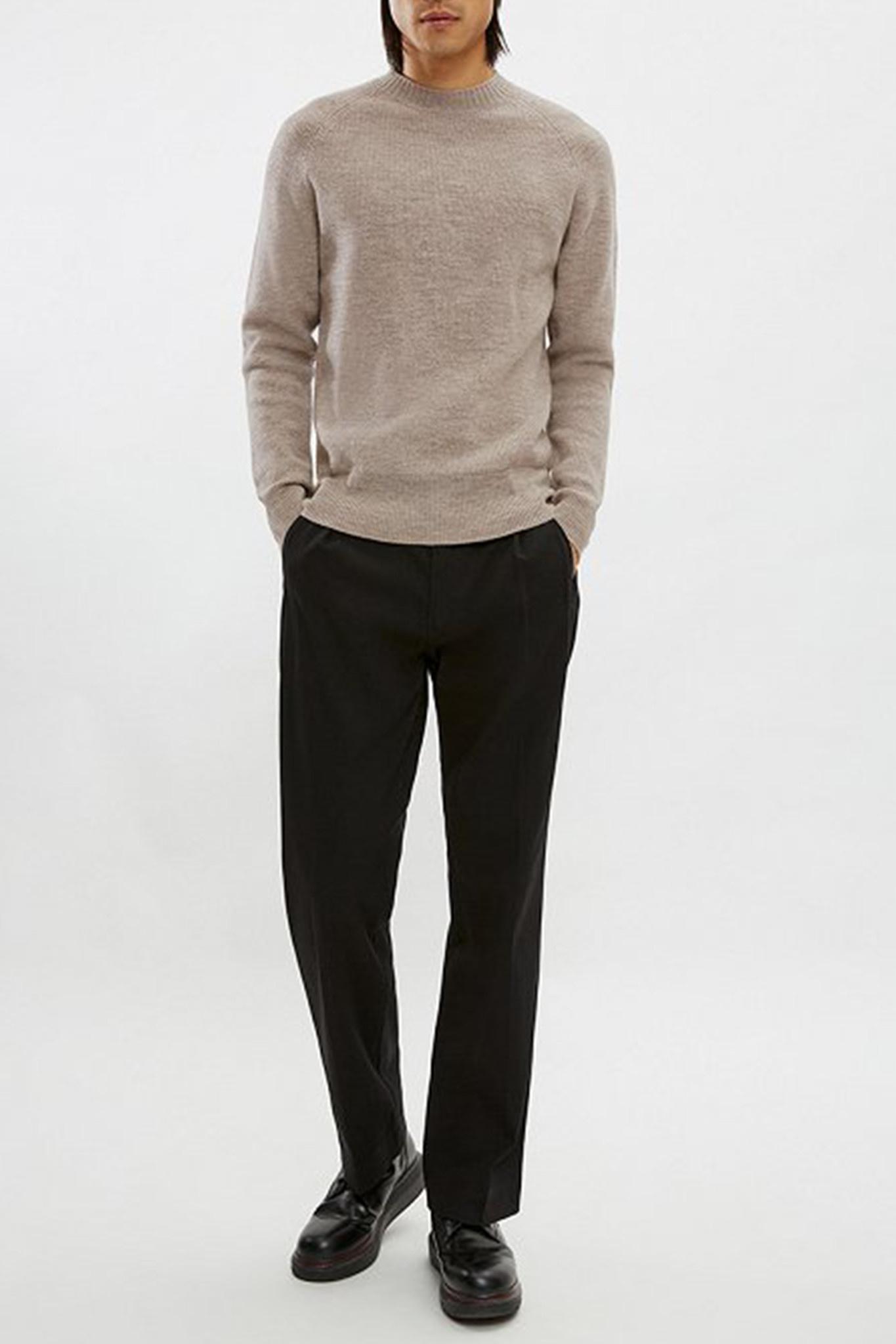 Aaron Knitwear - Light Brown-1