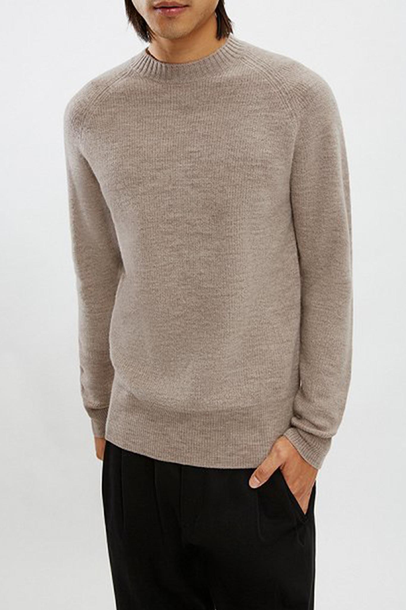 Aaron Knitwear - Light Brown-2