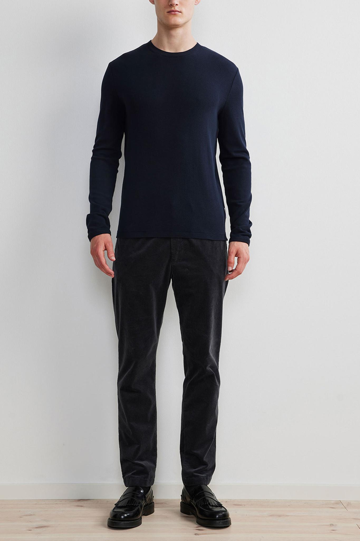 Clive Knitwear - Blue-2
