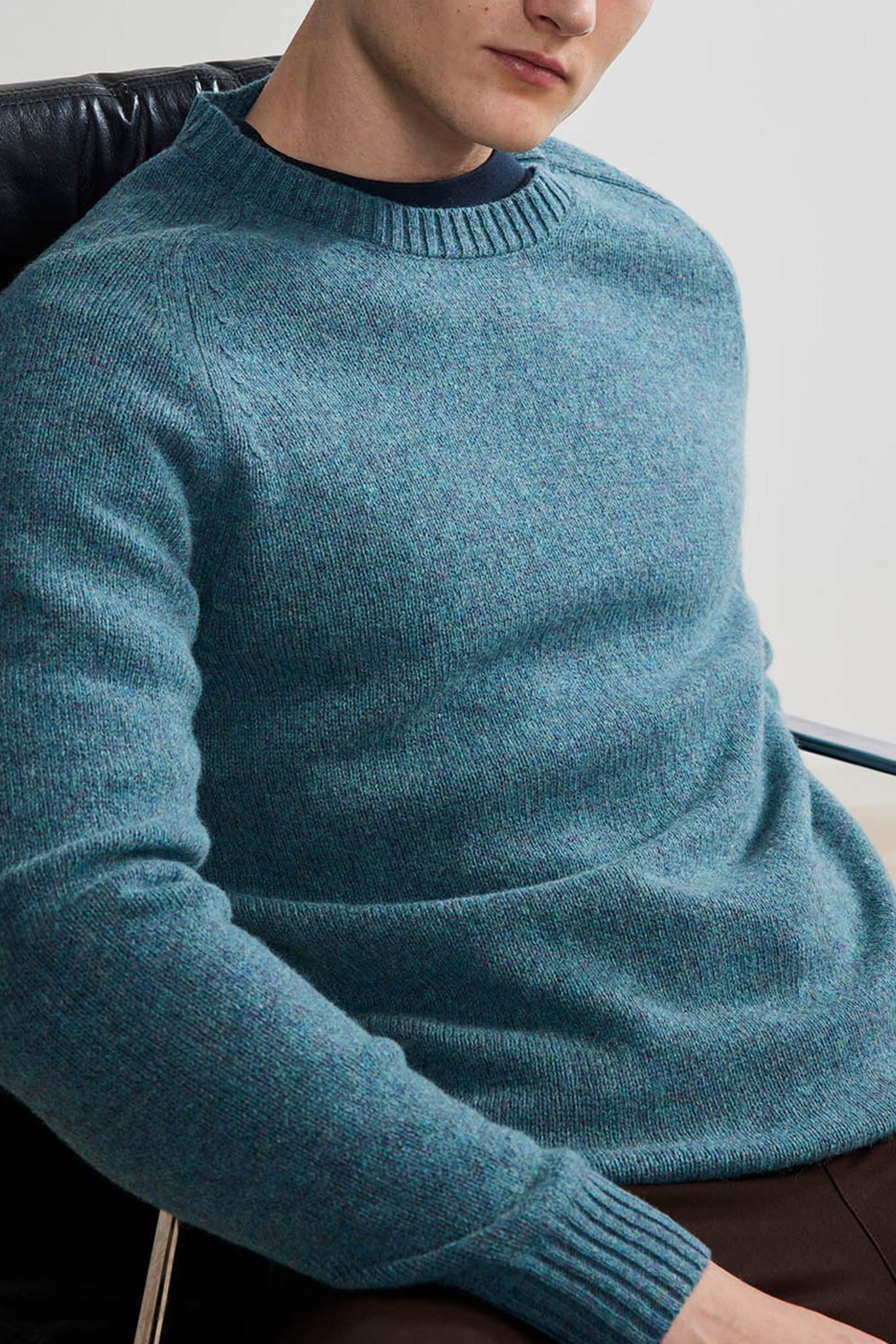 Nathan Knitwear - Ocean Blue-1