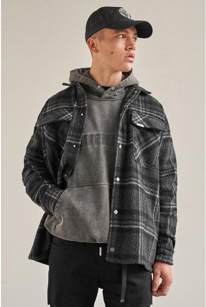Overshirt - Grey Check