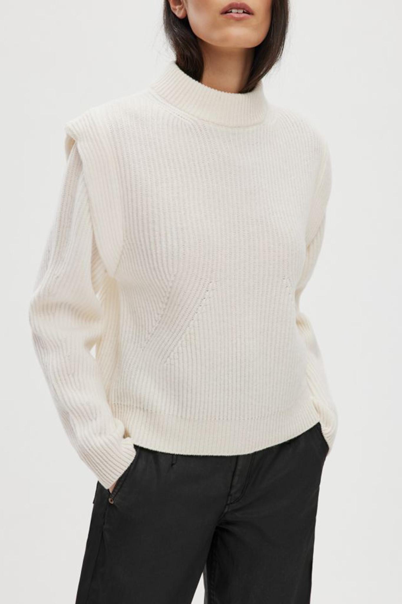Jorah Knitwear - White-1