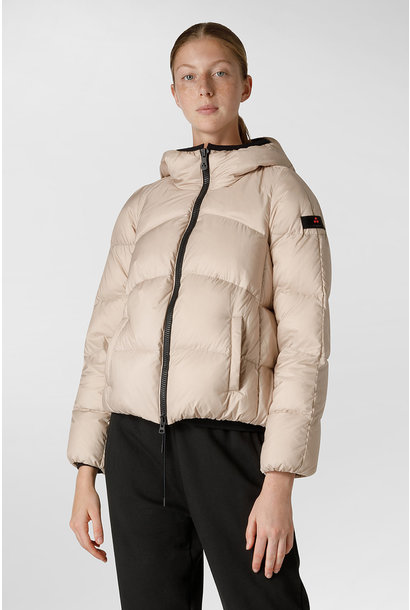 Down Jacket GRS Certified Fabric - Champagne