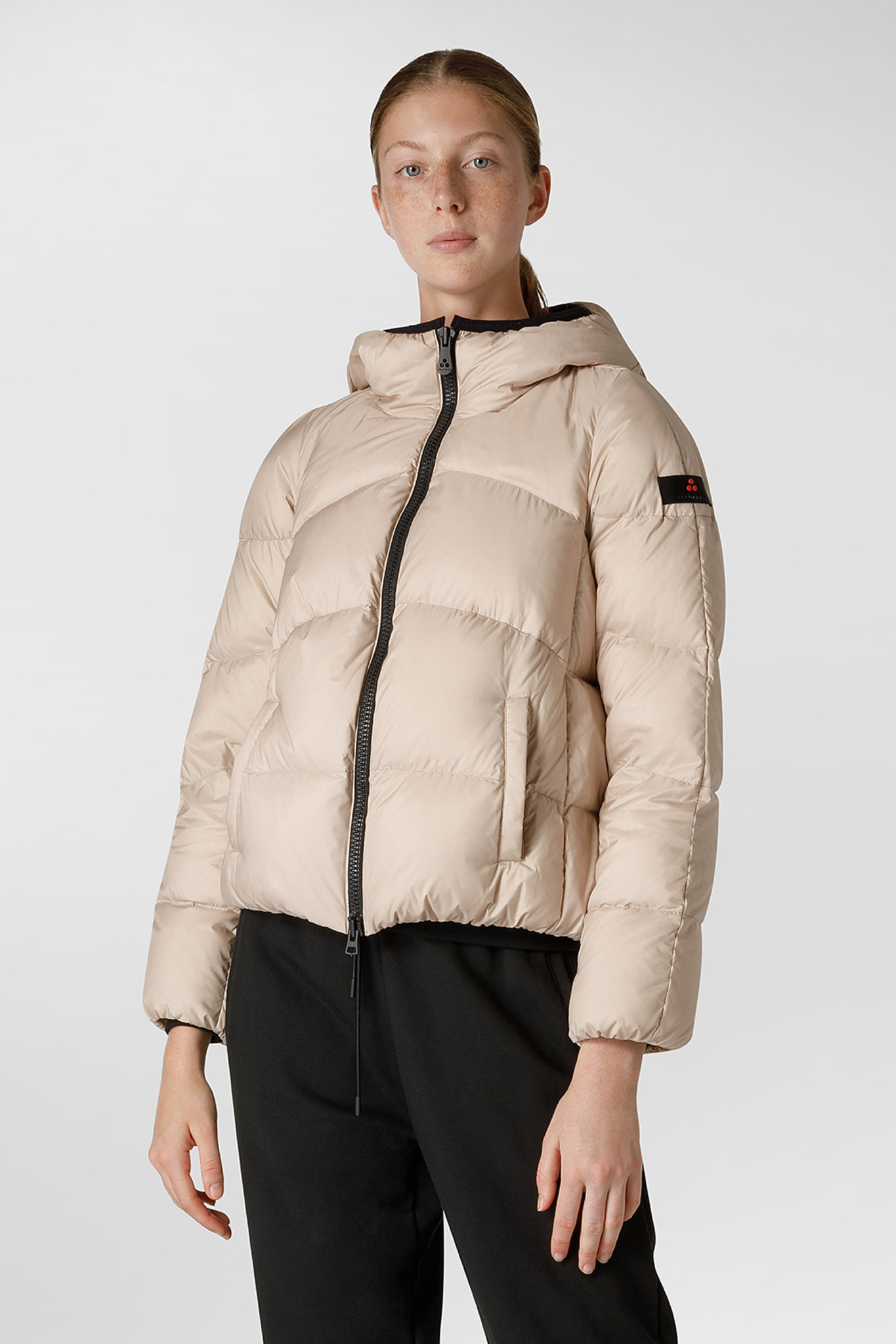 Down Jacket GRS Certified Fabric - Champagne-1