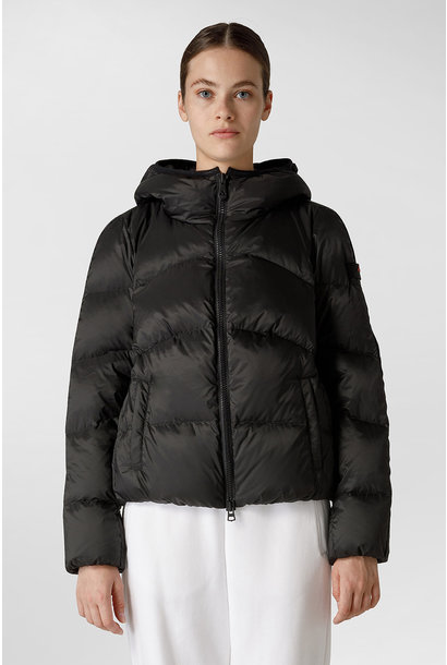 Down Jacket GRS Certified Fabric - Black