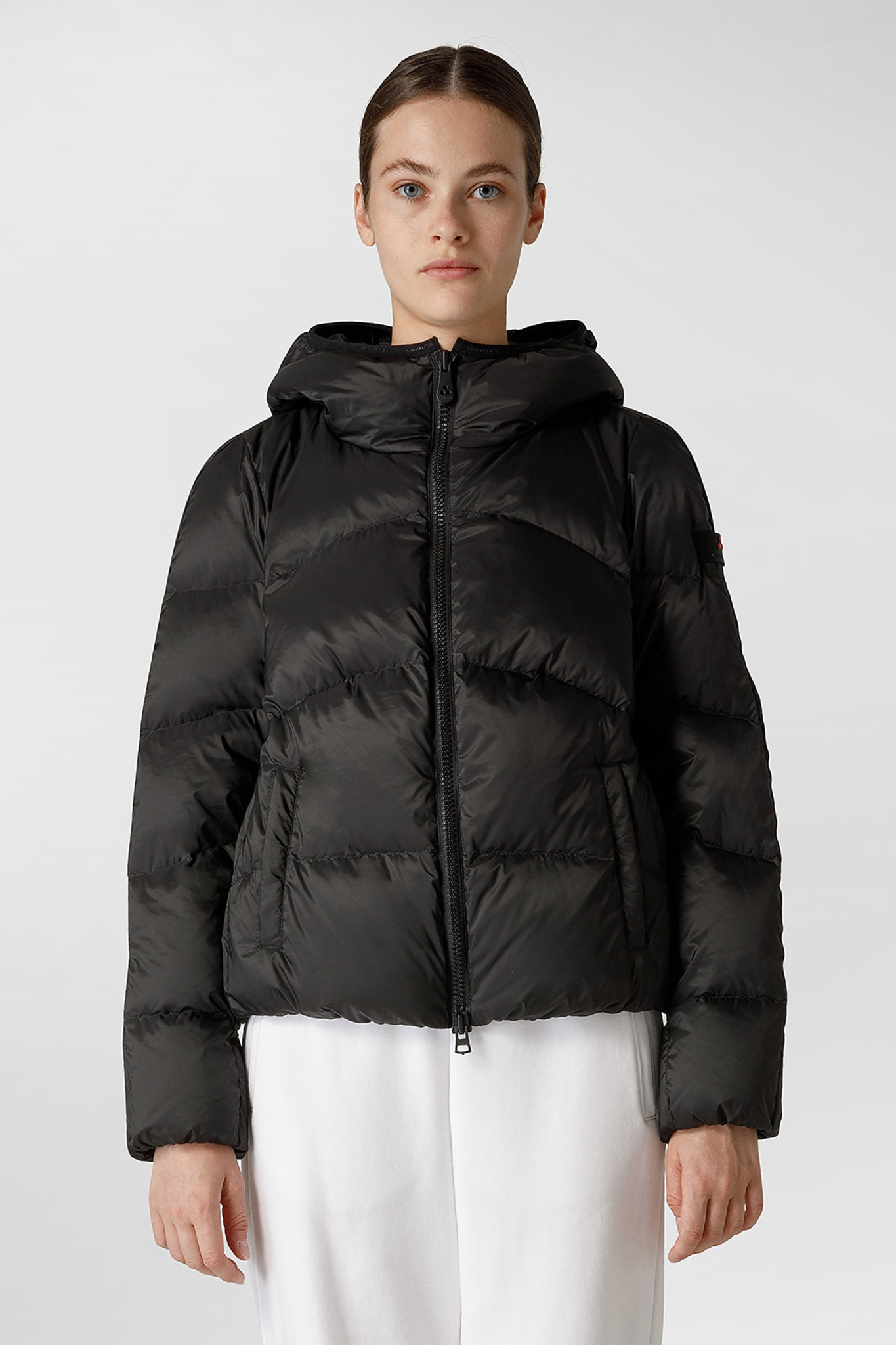Down Jacket GRS Certified Fabric - Black-1